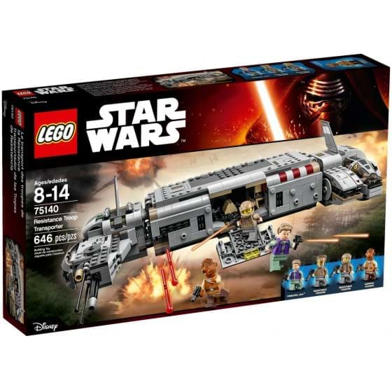 LEGO STAR WARS - 75140 - RESISTANCE TROOP TRANSPORTER