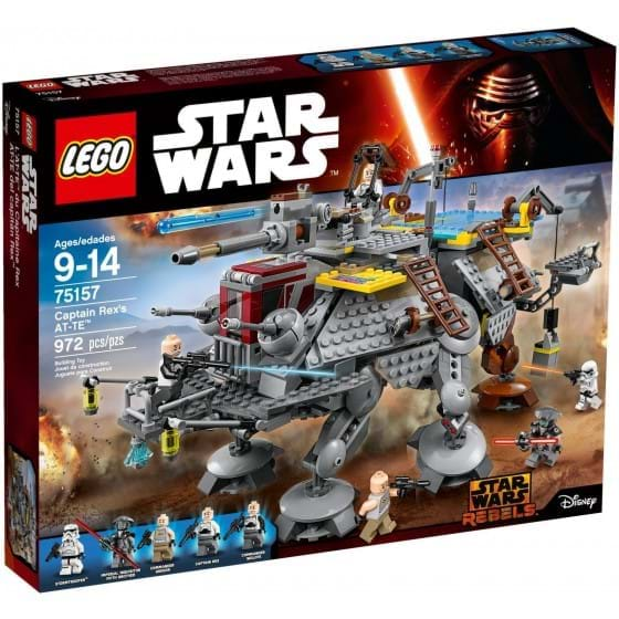 LEGO STAR WARS - 75157 - CAPTAIN REX'S AT-TE