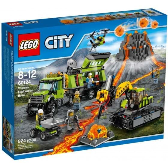LEGO CITY - 60124 - VOLCANO EXPLORATION BASE