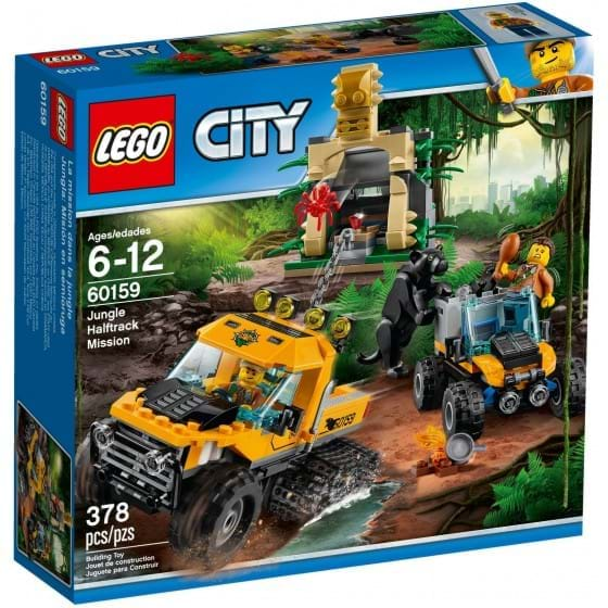 LEGO CITY - 60159 - JUNGLA: HALFTRACK MISSION