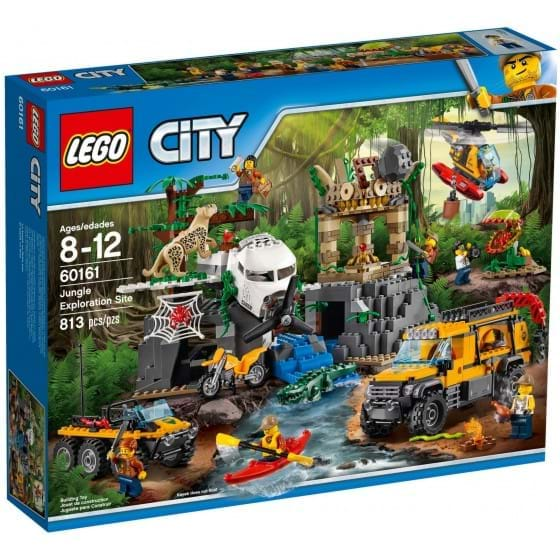 LEGO CITY - 60161 - JUNGLA: EXPLORATION SITE