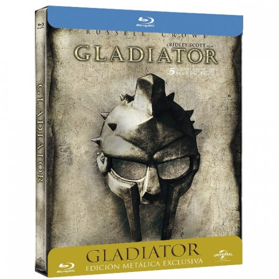Gladiator - Edición Metálica Exclusiva [BLU-RAY]