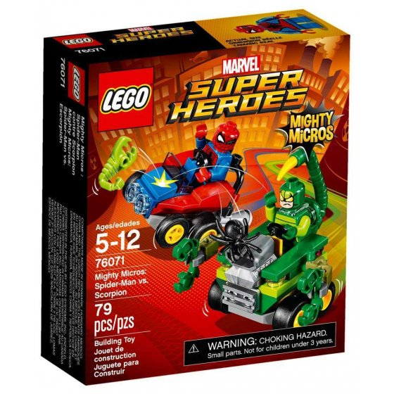LEGO Marvel Super Heroes - 76071 - Mighty Micros: Spider-Man vs. Escorpión