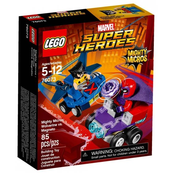 LEGO Marvel Super Heroes - 76073 - Mighty Micros: Lobezno vs. Magneto