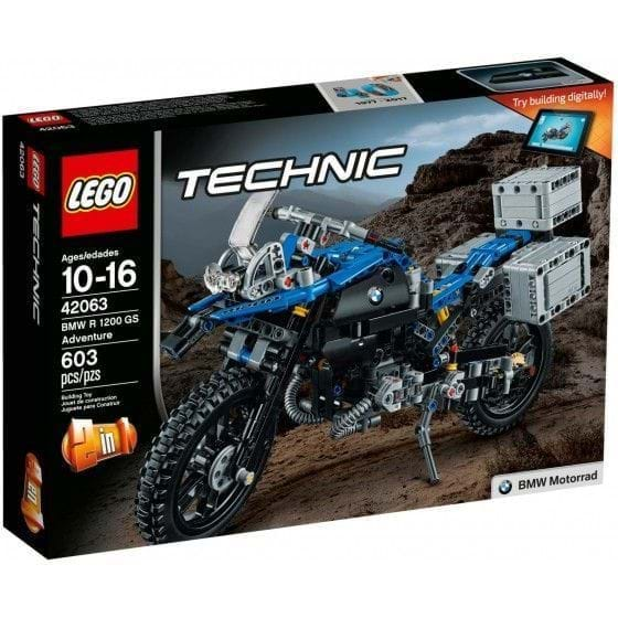 LEGO TECHNIC - 42063 - BMW R 1200 GS ADVENTURE