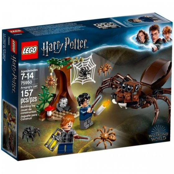 LEGO Harry Potter - 75950 - Guarida de Aragog