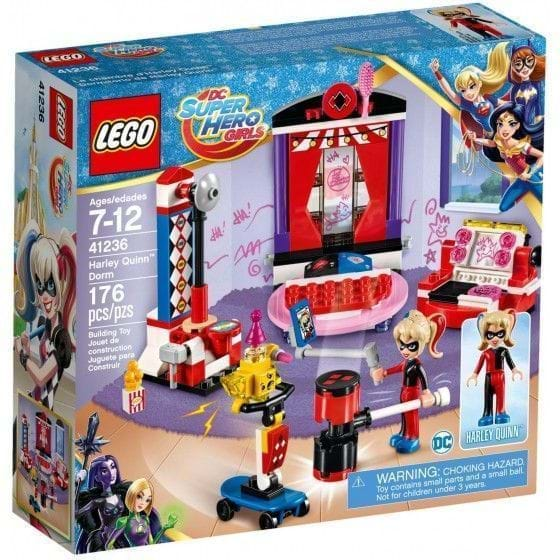LEGO DC Super Hero Girls - 41236 - Dormitorio de Harley Quinn