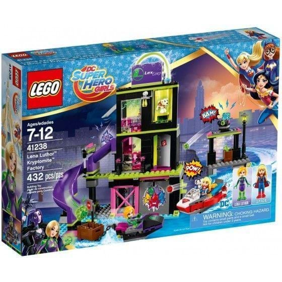 LEGO DC Super Hero Girls - 41238 - Fábrica de Kryptomite de Lena Luthor