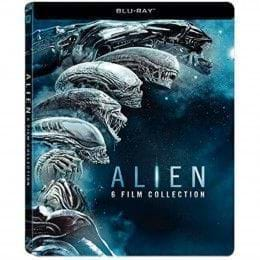 ALIEN: BOXSET 6 FILM COLLECTION (2017) - EDIC. METÁLICA [BLU-RAY]