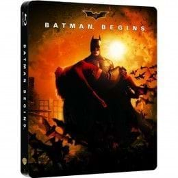 BATMAN BEGINS - EDIC. METÁLICA [BLU-RAY]