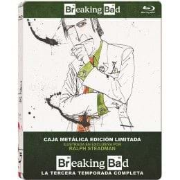 BREAKING BAD: TEMPORADA 3 - EDIC. METÁLICA [BLU-RAY]
