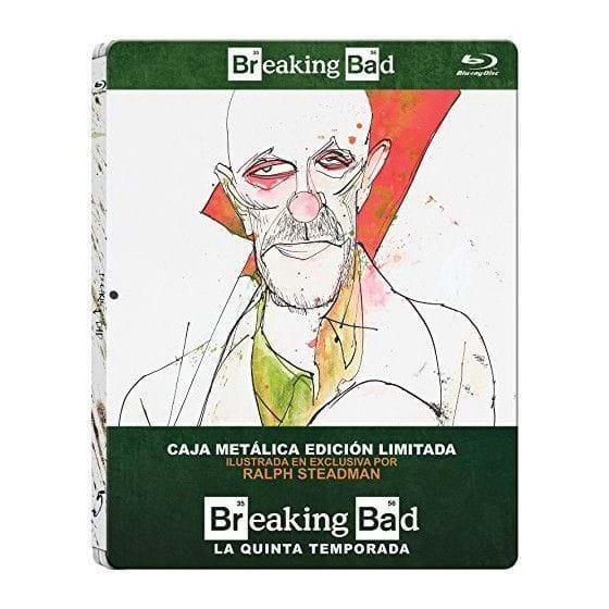 BREAKING BAD: TEMPORADA 5 - EDIC. METÁLICA [BLU-RAY]
