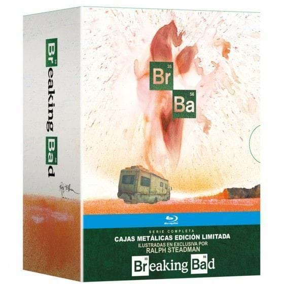 BREAKING BAD SERIE COMPLETA: PACK TEMPORADAS 1-6 - EDIC. METÁLICAS [BLU-RAY]