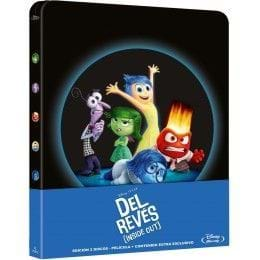 DEL REVÉS (INSIDE OUT) - EDIC. METÁLICA [BLU-RAY]
