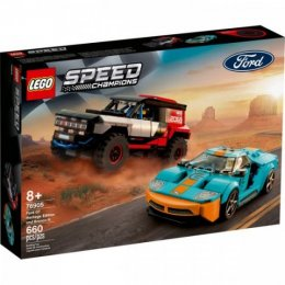 LEGO Speed Champions - 76905 - Ford GT Heritage Edition y Bronco R