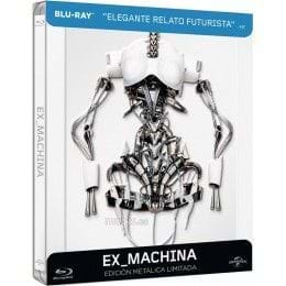 EX MACHINA - EDIC. METÁLICA LIMITADA [BLU-RAY]