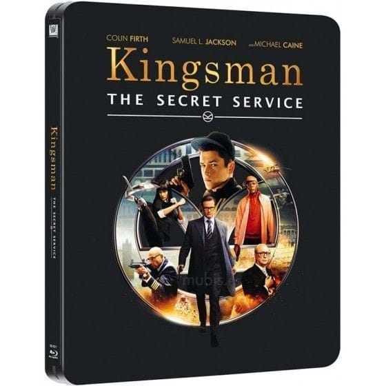 KINGSMAN: THE SECRET SERVICE - EDIC. METÁLICA [BLU-RAY]