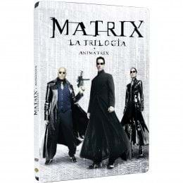 MATRIX: TRILOGÍA + ANIMATRIX - EDIC. METÁLICA (2015) (DVD)