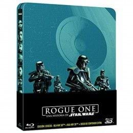 ROGUE ONE: UNA HISTORIA DE STAR WARS - EDIC. METÁLICA [BLU-RAY/3D]