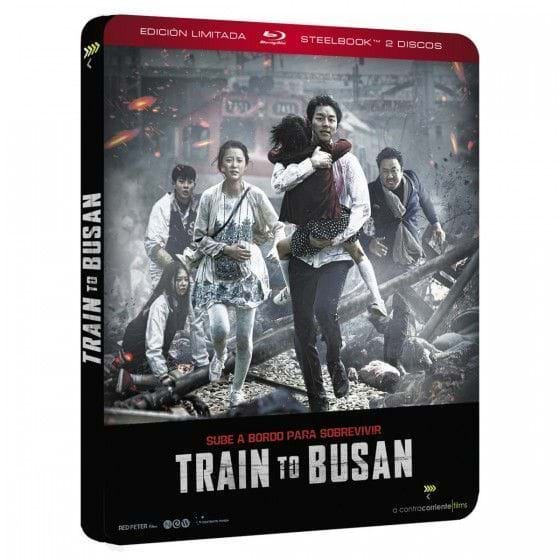 TRAIN TO BUSAN - EDIC. METÁLICA [BLU-RAY]