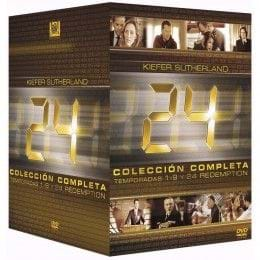 24 HORAS - TEMPORADAS 1-9 + 24 REDEMPTION (DVD)