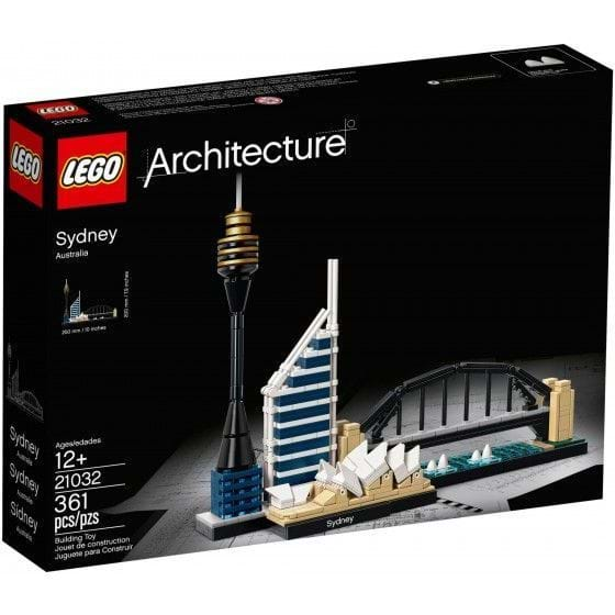 LEGO ARCHITECTURE - 21032 - SIDNEY