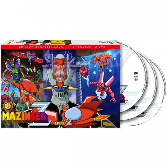 MAZINGER Z - BOX 2 (DVD)