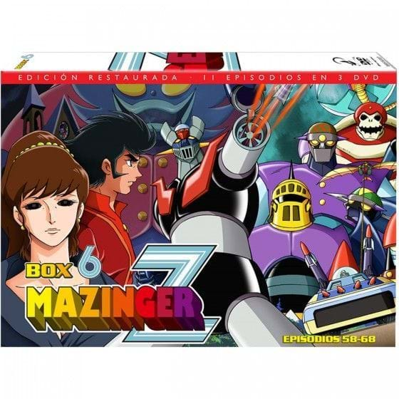 MAZINGER Z - BOX 6 (DVD)